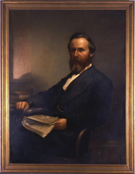 Governor Rutherford B. Hayes portrait