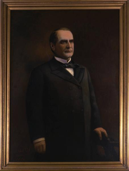Governor William McKinley Jr. portrait