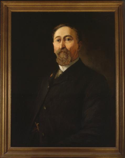 Governor Andrew Harris portrait