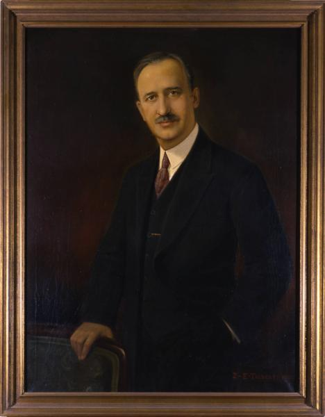 Governor Myers Y. Cooper portrait