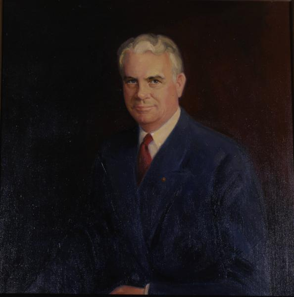 Governor John W. Bricker portrait