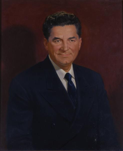 Governor Frank J. Lausche portrait