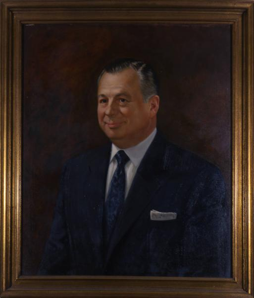 Governor Michael V. DiSalle portrait