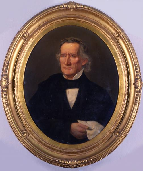 Governor Allen Trimble portrait