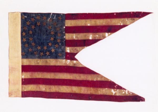 Guidon of the 25th Independent Battery, O.V.L.A.