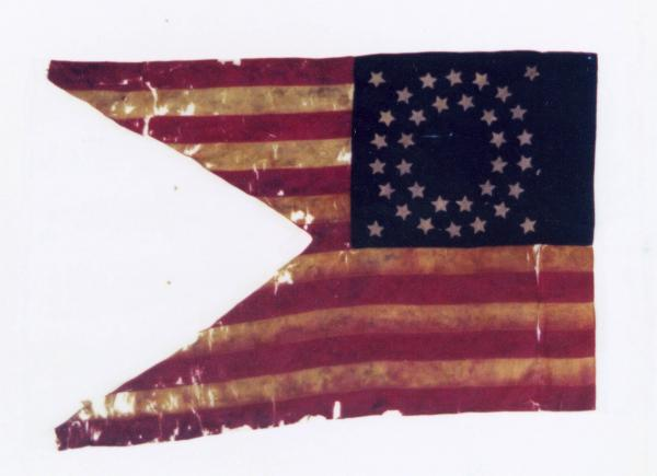 Guidon of the 13th O.V.C. 1861-1863
