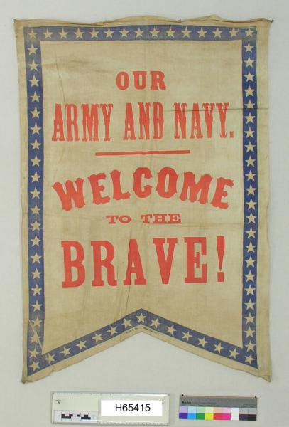 Welcome to the Brave flag
