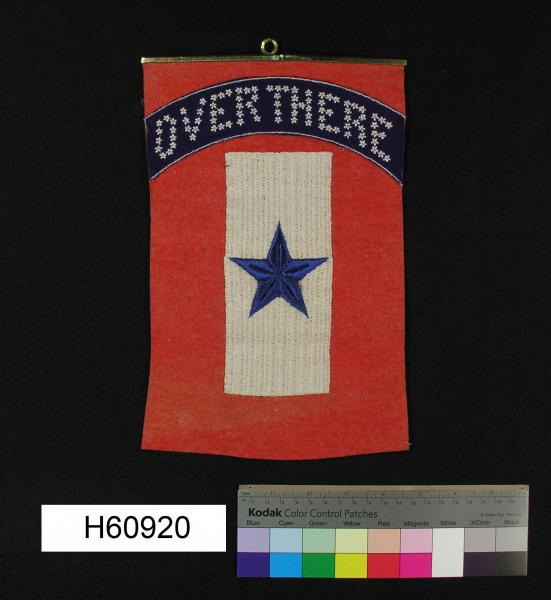 Blue Star Banner, World War I