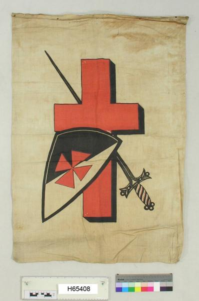 Banner featuring St. George's Cross