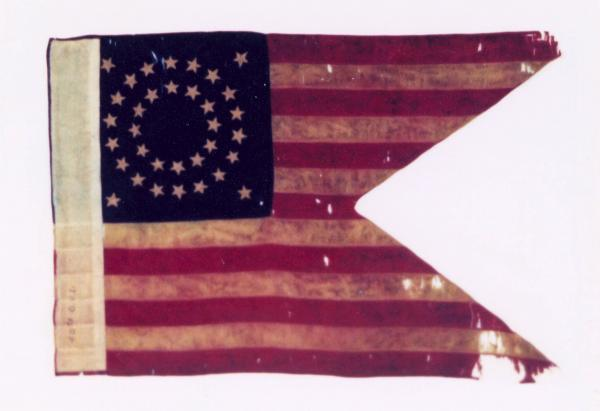 Guidon of the 40th Ohio Volunteer Infantry, 1