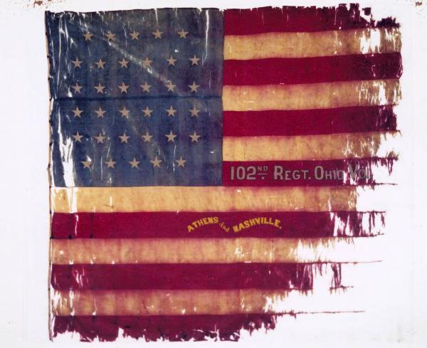 National Colors of the 102nd O.V.I.
