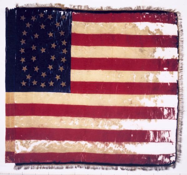 National Colors of the 194th O.V.I.