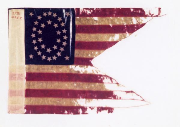 Guidon of the 27th U.S.C.T.
