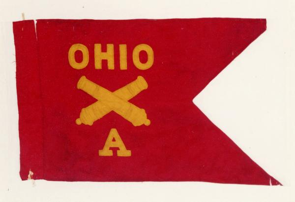 Guidon of 1st O.V.L.A., Battery A