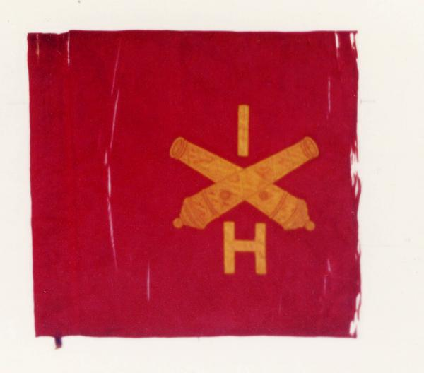 Guidon of 1st Ohio Light Artillery, Battery H and I