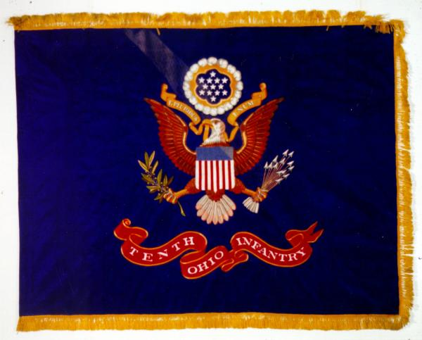 Regimental Colors of the 10th Ohio Infantry, 37th Infantry Division