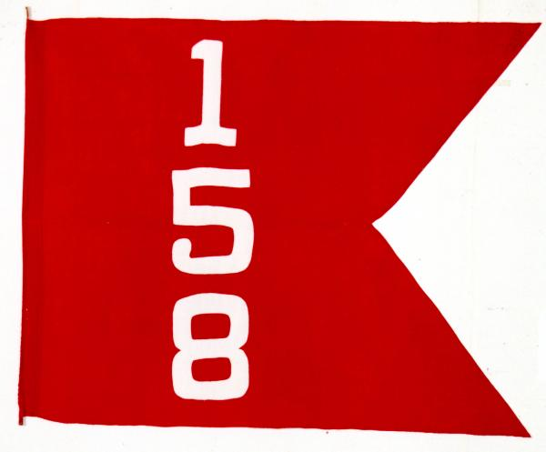 Brigade colors of the 158th Field Artillery Brigade