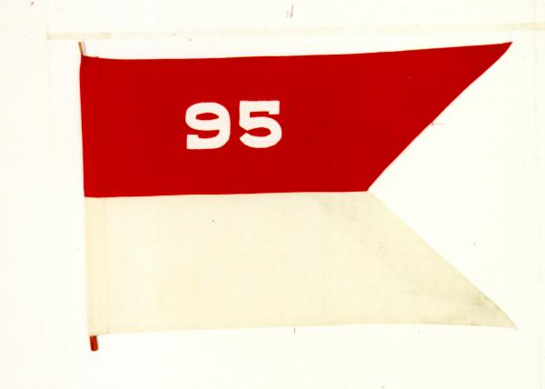 Guidon of the 95th Headquarters Troop, 95th Infantry Division