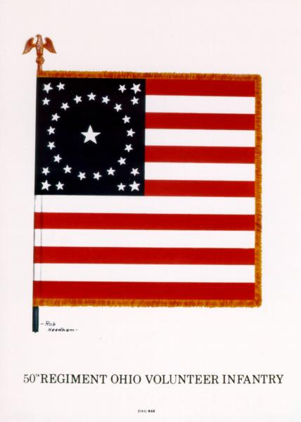 National Colors of the 50th O.V.I.