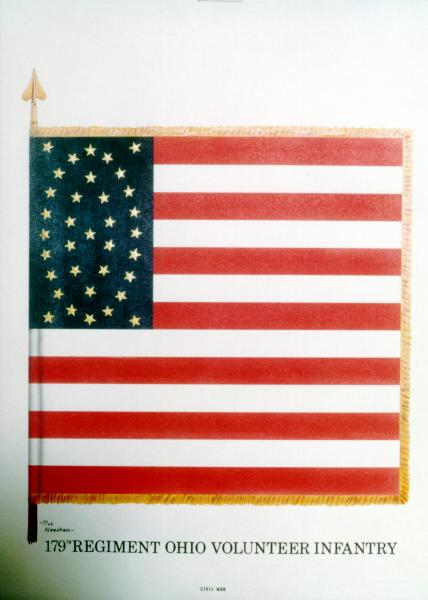 National Colors of the 179th O.V.I.