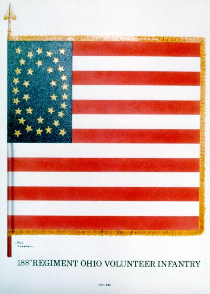 National Colors of the 188th O.V.I.