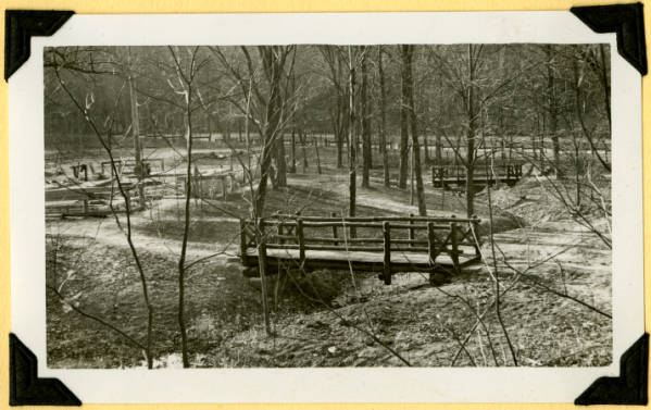 Fort Hill, footbridges completed photograph