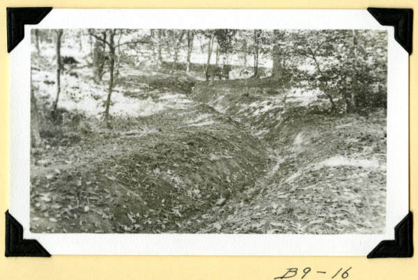 Fort Hill, stream widened and deepened photograph