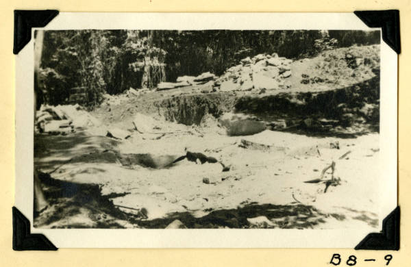 Fort Hill, stone quarry photograph