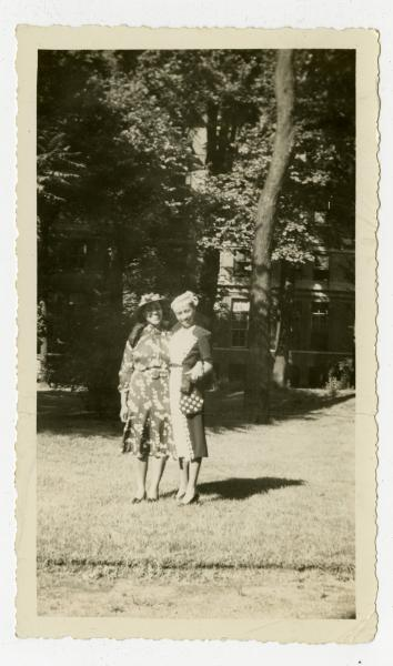 Yvonne Walker-Taylor and Dorothy Ester Newton photograph