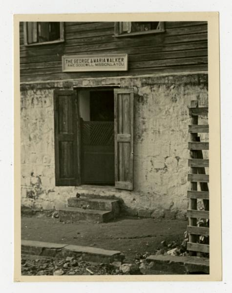 George and Maria Walker African Methodist Episcopal Goodwill Mission photograph