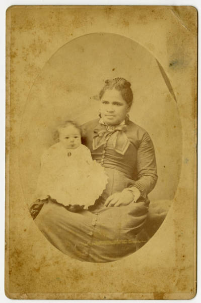 Photographs of William Burrows' Family