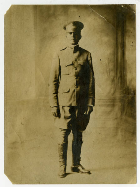 Photo of Charles Young in His Class A Army Uniform