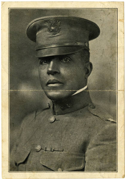 A Photograph of Col. Charles Young taken in 1903