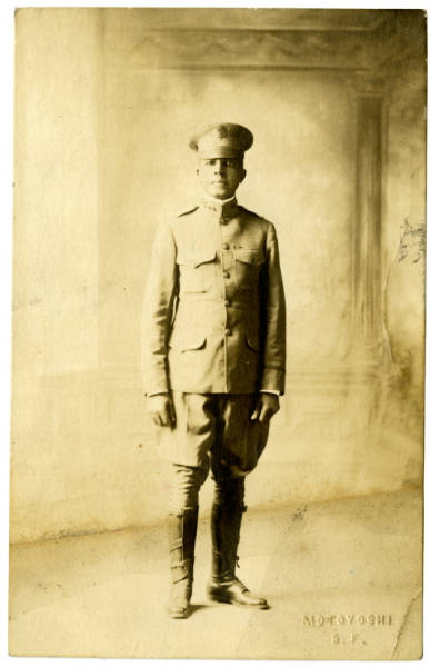 Photograph of Col. Charles Young taken in 1903