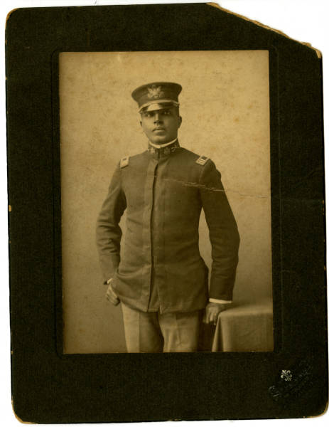 Photograph of Captain Charles Young taken in San Francisco in 1903