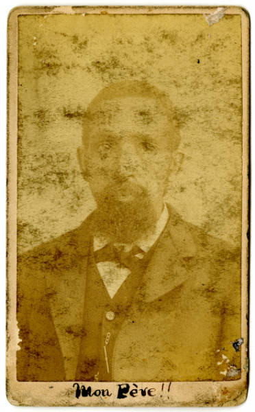 Photograph of Col. Charles Young's father, Gabriel Young