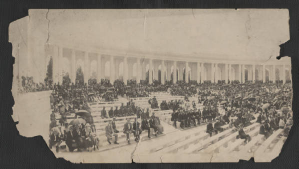Charles Young funeral at Arlington National Cemetery photograph