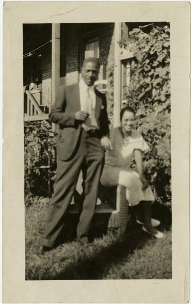 Charles Randolph and Frances E. Brown Bouyer photograph