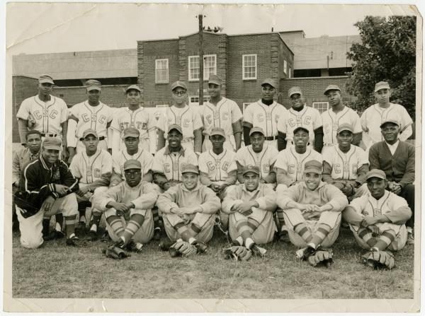 Central State College baseball team photograph