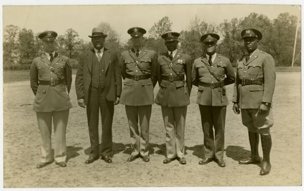 Bishop Dougal Ormonde Beaconfield Walker and Wilberforce Reserve Officers' Training Corps photograph