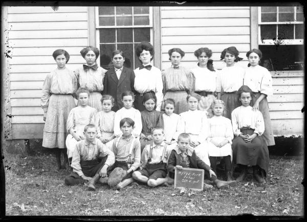 Myers Fork School portrait