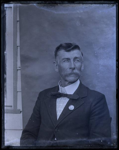 Unidentified man portrait