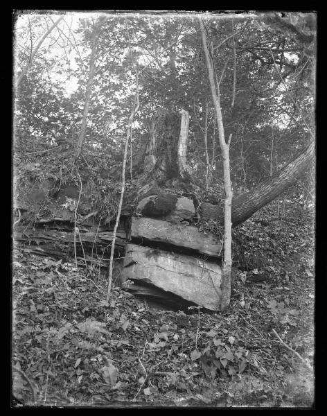 Etched rock photograph