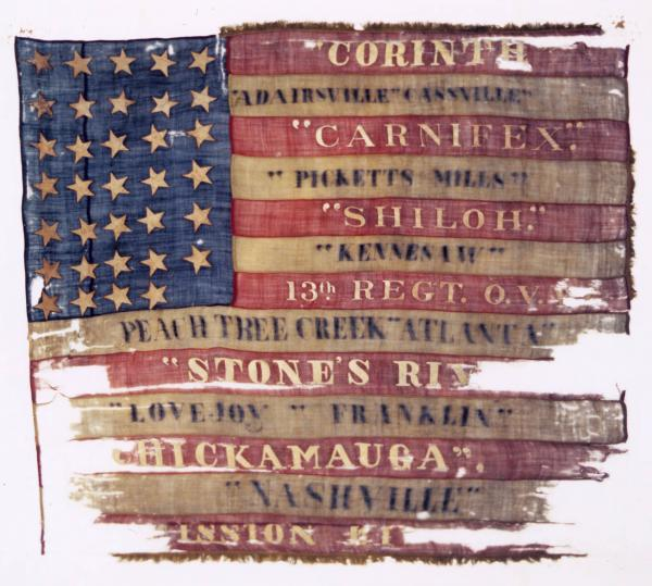 National Colors of the 13th O.V.I.