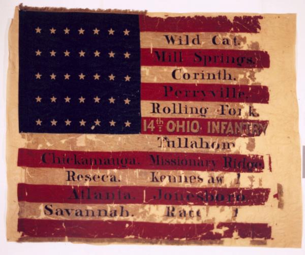 National Colors of the 14th O.V.I.