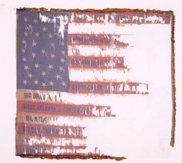 National Colors of the 20th O.V.I.