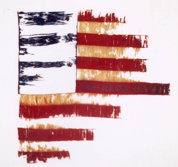 National Colors of the 30th O.V.I.