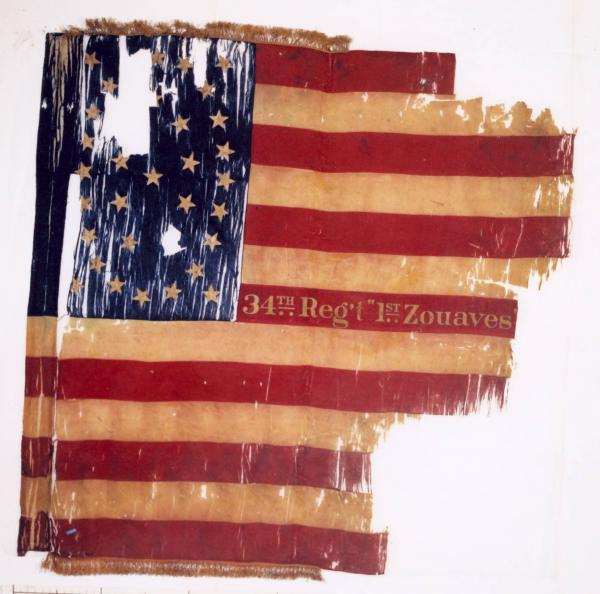 National Colors of the 34th O.V.I.