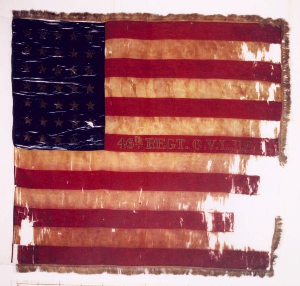National  Colors of the 46th O.V.I.