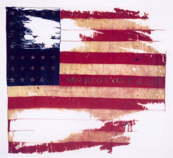 National Colors of the 60th O.V.I.